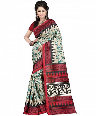 ARROW RED Saree @ Rs469.00