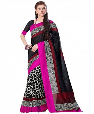 BLACK EGG Saree @ Rs469.00
