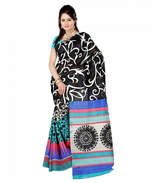 CHAKRI BLUE Saree @ Rs469.00