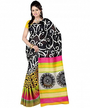 CHAKRI YELLOW Saree @ Rs469.00