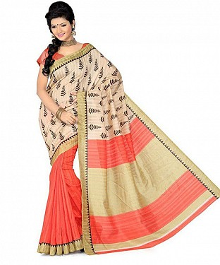CHRISTMAS PRINT Saree Buy Rs.469.00