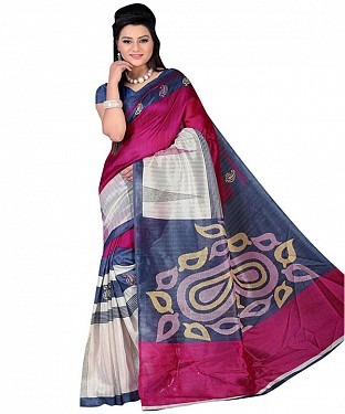 CUTE PINK Saree @ Rs469.00