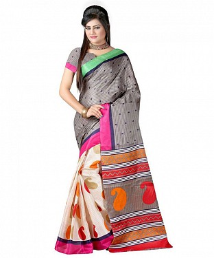 INDIRA BHAGALPURI Saree Buy Rs.469.00