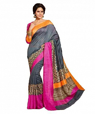 PARVATI GRAY Saree @ Rs469.00