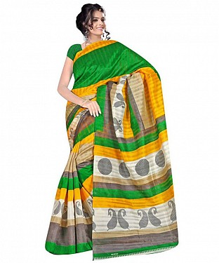 PILUDI PRINT Saree @ Rs469.00