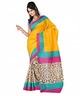 PRINT YBP Saree @ Rs469.00