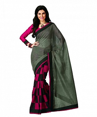 QUEEN PRINT Saree @ Rs469.00