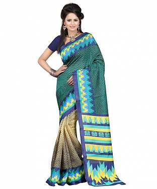 RANDOM GREEN Saree @ Rs469.00