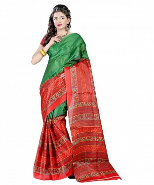 RED ROSE Saree @ Rs469.00