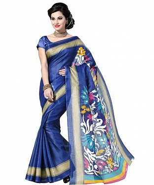 SIMRAN BLUE Saree @ Rs469.00