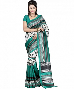 TRISHUL GREEN Saree@ Rs.469.00