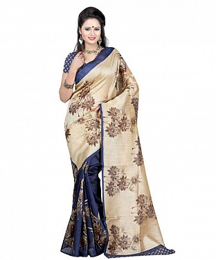 ZAMKHUDI BLUE Saree @ Rs469.00