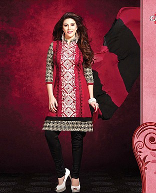 Printed Cotton Suit with Dupatta Buy Rs.850.00