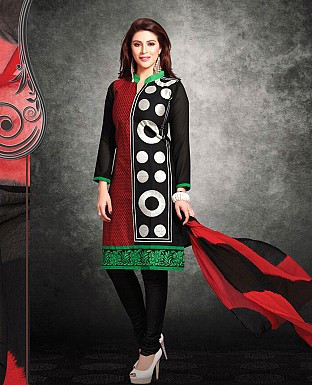 Printed Cotton Suit with Dupatta @ Rs850.00