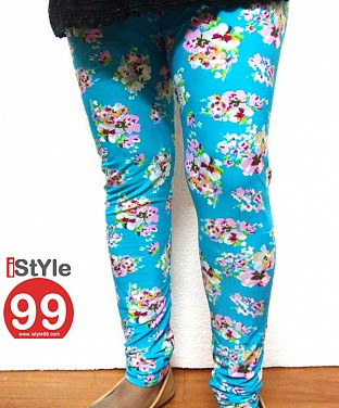 High-end European Stretchable Print Leggings-Multi@ Rs.402.00