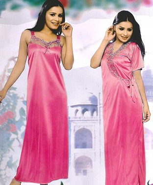 Womens Sleep Wear 2PC Nighty@ Rs.1338.00