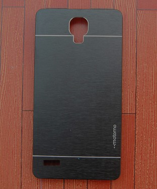 Xiaomi Redmi Note Motomo Brushed Metal Back Cover- Black Buy Rs.258.00