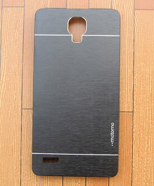 Xiaomi Redmi Note Motomo Brushed Metal Back Cover- Gray Buy Rs.258.00