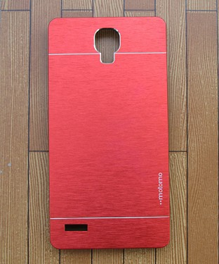 Xiaomi Redmi Note Motomo Brushed Metal Back Cover -Red@ Rs.308.00
