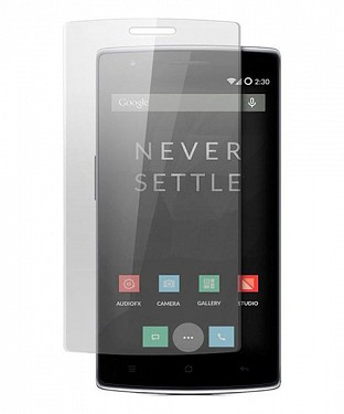 Oneplus One Premium Tempered Glass Screen Guard/Screen Protector @ Rs196.00
