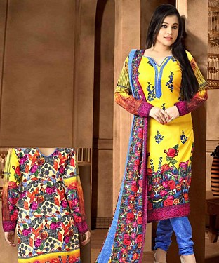 Pashmina Woolen Salwar Suit with Shawl@ Rs.926.00