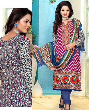 Pashmina Woolen Salwar Suit with Shawl@ Rs.1029.00