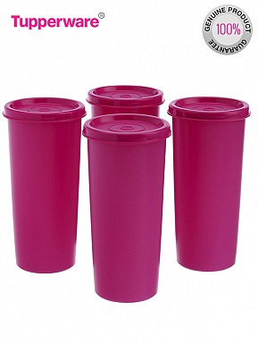 Tupperware Rainbow Tumblers, 340ml, Set of 4 @ Rs567.00