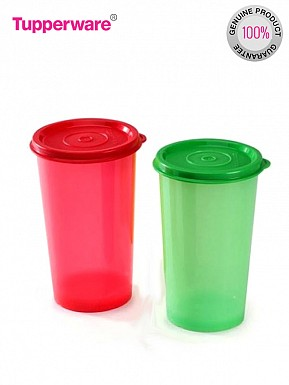 Tupperware Rainbow Tumblers, 340ml, Set of 2 @ Rs294.00