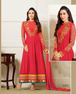 Latest Designers Anarkali Suit @ Rs1700.00