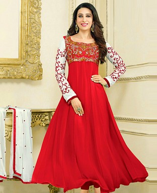 Embroidery Designer  Anarkali Suit@ Rs.1029.00