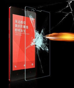 Redmi 1S Premium Tempered Glass or Screen Guard @ Rs176.00