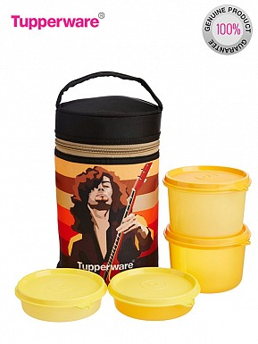 Tupperware Rocker Lunch Set with Bag@ Rs.984.00