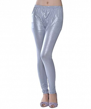 Shimmer Gray Leggings@ Rs.361.00