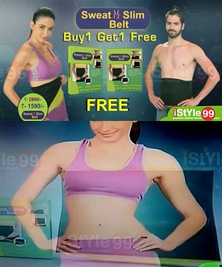 sweat slim belt as seen on tv @ Rs1132.00