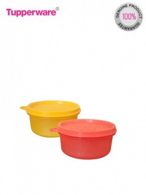 Tupperware Tropical Twins 2 Containers Lunch Box@ Rs.253.00