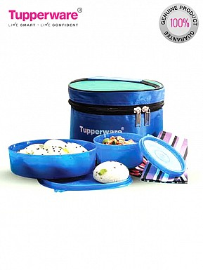 Tupperware Classic Lunch Box with Bag, 3-Pieces @ Rs464.00