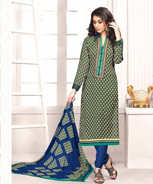 Pashmina Salwar Suit With Chiffon Duppatta Buy Rs.1132.00