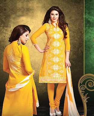 Printed Cotton Suit with Dupatta@ Rs.399.00