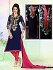 Jalawa blue (pa)- Ethanik Suits, Buy Ethanik Suits Online, Salwar Suits, Disaner Suits, Buy Disaner Suits,  online Sabse Sasta in India -  for  - 6146/20160204