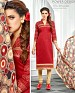Designer Red Latest Cotton Salwar Suit Dress Material S724- S724, Buy S724 Online, Dress Material, Embroidery Work, Buy Embroidery Work,  online Sabse Sasta in India - Palazzo Pants for Women - 4393/20151103