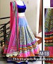 Pink And Purple Satin And Dupion Embroidered Bridal Lehenga Choli @ 37% OFF Rs 3090.00 Only FREE Shipping + Extra Discount - Dhupian, Satin Lehenga, Buy Dhupian, Satin Lehenga Online, Designer Lehenga, Partywear Lehenga, Buy Partywear Lehenga,  online Sabse Sasta in India - Lehengas for Women - 8588/20160407