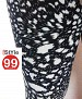 Modern Stretchable Legging with Ankle Zipper - Black Print @ 59% OFF Rs 360.00 Only FREE Shipping + Extra Discount - Online Shopping, Buy Online Shopping Online, Online Shopping,  online Sabse Sasta in India -  for  - 1340/20150414