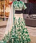 EMBROIDERED Cream LEHENGA @ 73% OFF Rs 1125.00 Only FREE Shipping + Extra Discount -  online Sabse Sasta in India - Lehengas for Women - 10118/20160528