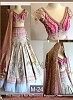 Pink Designer Lehenga Choli @ 40% OFF Rs 1854.00 Only FREE Shipping + Extra Discount - Brocade Lehenga, Buy Brocade Lehenga Online, Designer Lehenga, Partywear Lehenga, Buy Partywear Lehenga,  online Sabse Sasta in India - Lehengas for Women - 8593/20160407