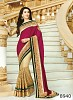 Pink & Beige 60gm georgette,Net Saree @ 41% OFF Rs 1482.00 Only FREE Shipping + Extra Discount - Georgette Saree, Buy Georgette Saree Online, Designer Saree, Partywear saree, Buy Partywear saree,  online Sabse Sasta in India - Sarees for Women - 8625/20160407