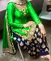PUNJABI PATIYALA @ 62% OFF Rs 1088.00 Only FREE Shipping + Extra Discount -  online Sabse Sasta in India - Salwar Suit for Women - 10040/20160528