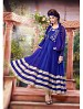 THANKAR ATTRACTIVE NET BRASSO DESIGNER BLUE & CREAM ANARKALI SUITS @ 59% OFF Rs 1112.00 Only FREE Shipping + Extra Discount - Anarkali Suits, Buy Anarkali Suits Online, Santoon, Brasso With Net, Buy Brasso With Net,  online Sabse Sasta in India -  for  - 3438/20150925