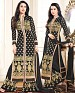 DESIGNER BLACK STRAIGHT PLAZO SUIT @ 36% OFF Rs 1606.00 Only FREE Shipping + Extra Discount - Georgette, Buy Georgette Online, Semi-stitched, palazzo Style Suit, Buy palazzo Style Suit,  online Sabse Sasta in India - Salwar Suit for Women - 4286/20151020