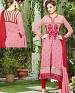 DESIGNER PINK & RED STRAIGHT SUIT @ 31% OFF Rs 1915.00 Only FREE Shipping + Extra Discount - Georgette, Buy Georgette Online, Semi-stitched, Anarkali suit, Buy Anarkali suit,  online Sabse Sasta in India - Salwar Suit for Women - 4305/20151020