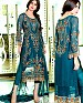 LATEST AQUA DESIGNER LONG SLEEVE STRAIGHT SUIT @ 31% OFF Rs 1791.00 Only FREE Shipping + Extra Discount - Suit, Buy Suit Online, Georgette, Santoon, Buy Santoon,  online Sabse Sasta in India - Salwar Suit for Women - 4344/20151029